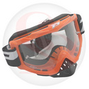 Lunette PROGRIP 3200  orange ecran transparent 3212 anti-buee-anti-uv (pr)