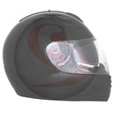 Casque integral ADX rs2 uni noir brillant xl  (double ecrans)