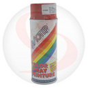 BOMBE DE PEINTURE MOTIP GLYCERO BRILLANT ROUGE CARMIN spray 400ml (01640)