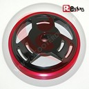 CLOCHE D EMBRAYAGE SCOOT REPLAY RENFORCEE SUPER VENTILEE DIAM 107 NOIR-ROUGE