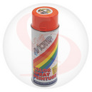 BOMBE DE PEINTURE MOTIP GLYCERO BRILLANT ORANGE KTM spray 400ml (01605)