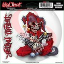 STICKER LETHAL THREAT JESTER SKELETON (15x14cm) (LT00128)